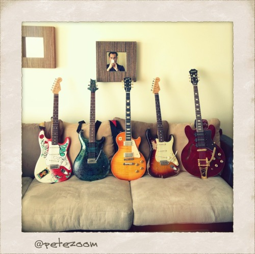 My guitars …