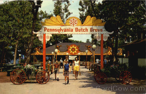 thepittsburghhistoryjournal:  Picnic area at Kennywood, Pittsburgh, 1967
