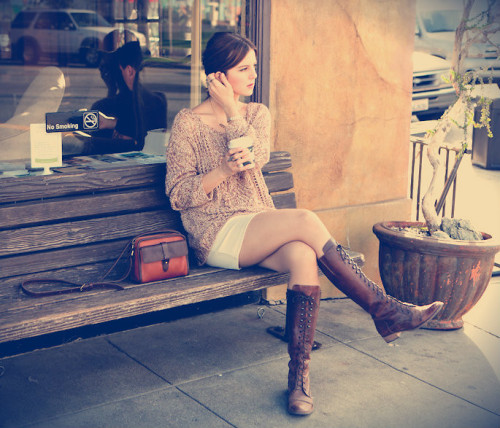 lookbookdotnu:  COFFEE BREAK (by Michelle Madsen)