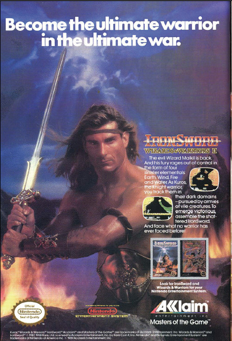 earthwreck:  this game came with this picture of fabio as a fold out poster  Big, buttery slabs of Fabio!