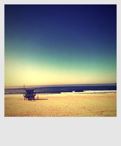 Home. Manhattan Beach.  (Monday, you can end right about…. now)