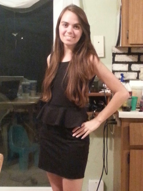 Band banquet dress:) however apparently I was never THE ONLY SYNTH PLAYER IN THE ENTIRE BAND THANKS MR DAWSON IM GLAD IM APPRECIATED. fuck you too