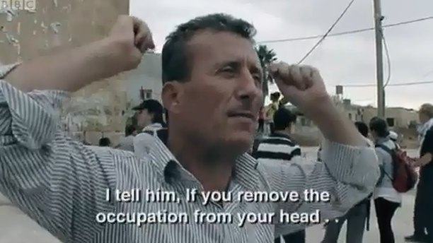 amongthecreaturesoflight:  Louis Theroux asks a Palestinian man if he could ever be friends with an Israeli soldier