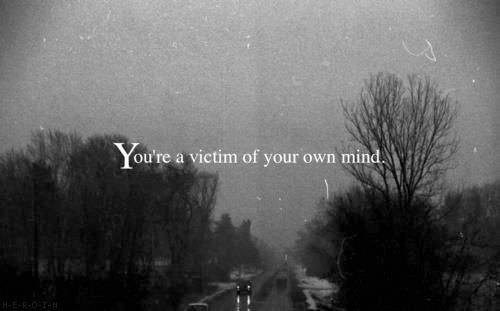 I prefer this: You're the author of your own mind.