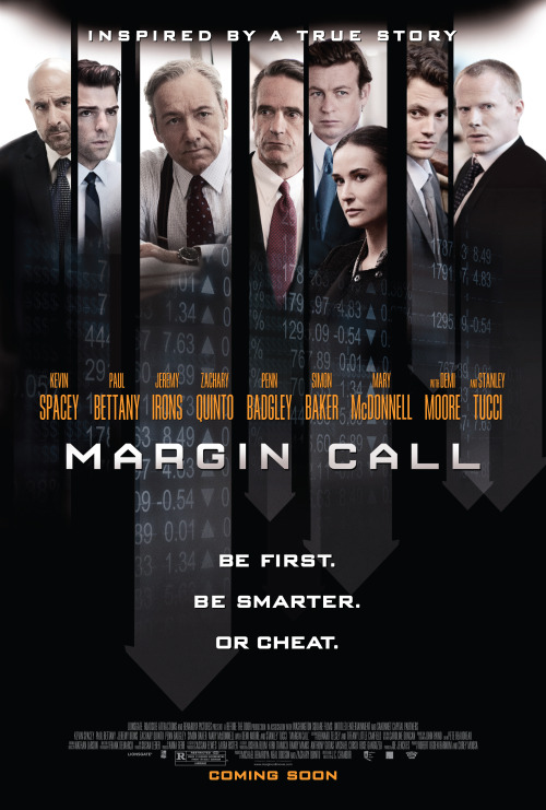 #137 Margin Call (2011) Dir. J.C. Chandor  A great cast and a gripping script on a topic I have absolutely no interest or knowledge of. Successfully held my attention for 90 minutes and kept me thinking long after. Reminded me of Robert Altman and any filmmaker who can do that is clearly someone with talent.