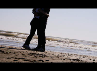 #love #beach #cutecouple