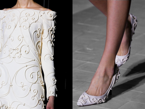 Details at Valentino Haute Couture Spring/Summer 2013.