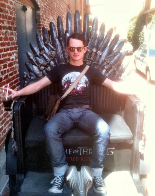 samandriel:  moviesmovesme:  First the Ring now the Throne  What's next? The Elder wand? Will it ever end, Elijah?