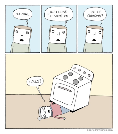 nevver:  Poorly drawn lines  shit happens Fuck you grandma.