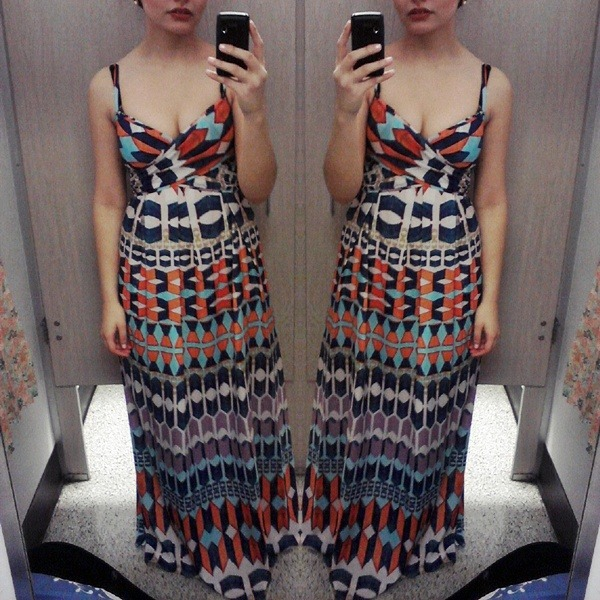 You don't understand how in love I am with this dress, but I feel so indecent