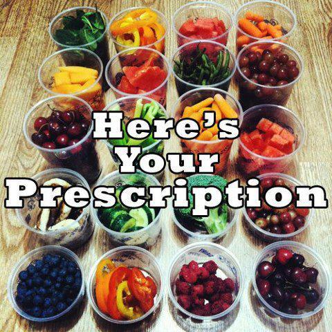 Here's Your Prescription.  Eat healthy!