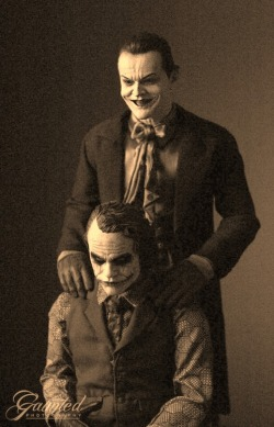"ewurajaja:  This gave me chills.  Jack Nicholson, who played the Joker in 1989 - and who was furious he wasn't consulted about the creepy role - offered a cryptic comment when told Ledger was dead. ""Well,"" Nicholson told reporters in London early Wednesday, ""I warned him.""  That last quote gave me chills"