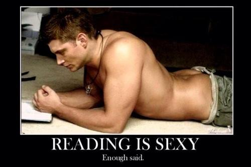clitical:  Reading is sexy oh yeah it is! Here's your evidence…