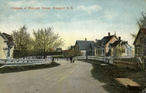 moonshot5:  Freeport, Nova Scotia c1910  Everyone should visit this tiny village on Long Island, Nova Scotia.