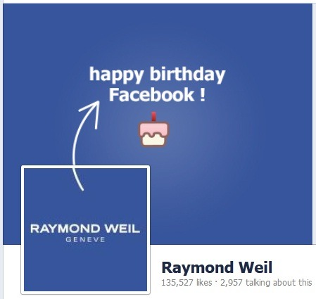 Today we're celebrating Facebook's birthday with an unconventional celebration! Only for today, all our website traffic will be redirected to our official Facebook page.