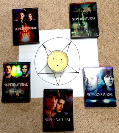 ifeellikesingingaboutwincest:  crowleysdarlings:  Trying to summon Season 9  has it worked?
