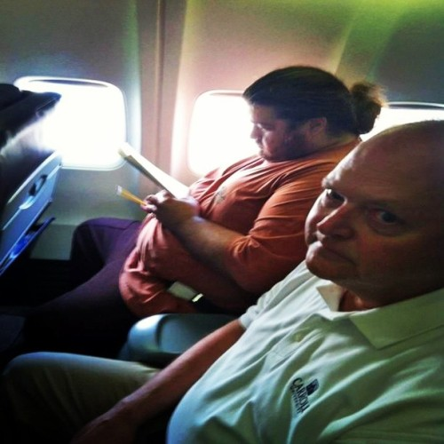 tenso issdaê! 9gag:  I had a bad feeling about this flight.