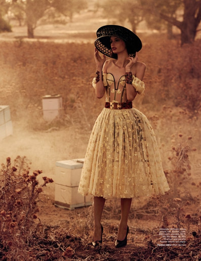 opaqueglitter:  The Sweetest Thing: Vogue Australia April 2013Models: Cassi van den Dungen & Lucas Pittaway Photographer: Will Davidson Stylist: Jillian Davidson
