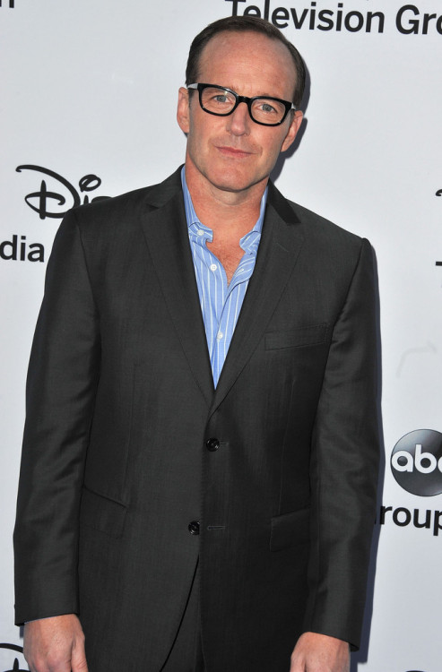 Clark Gregg || Disney Upfronts at Walt Disney Studios in Burbank, CA on May 19, 2013