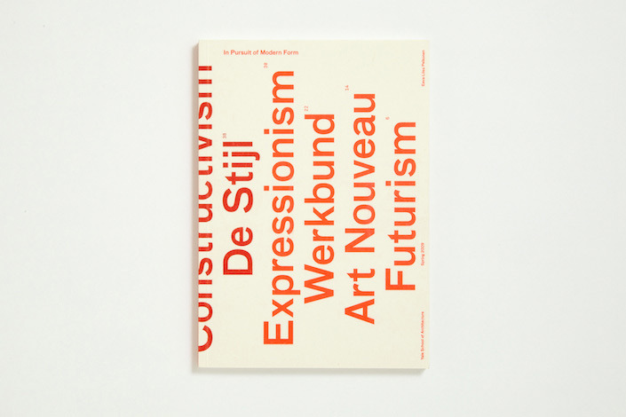 maybeitsgreat:  In Pursuit of Modern Form, 2009 by Everything Type Form from USA