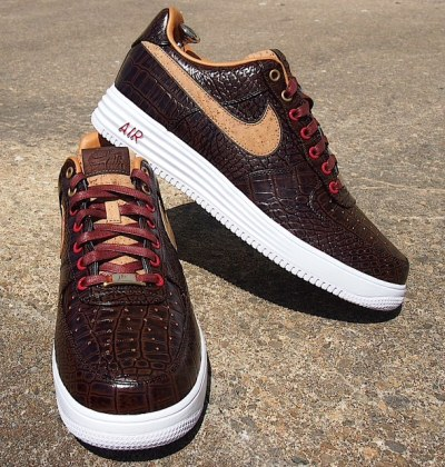 "Nike Lunar Force 1 Bespoke ""Reversed Cork"" by SLOVADON"