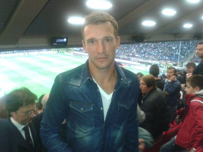 A very special guest was spotted in the stands at the San Siro tonight. Shame we couldn't throw him a kit and put him on the pitch …