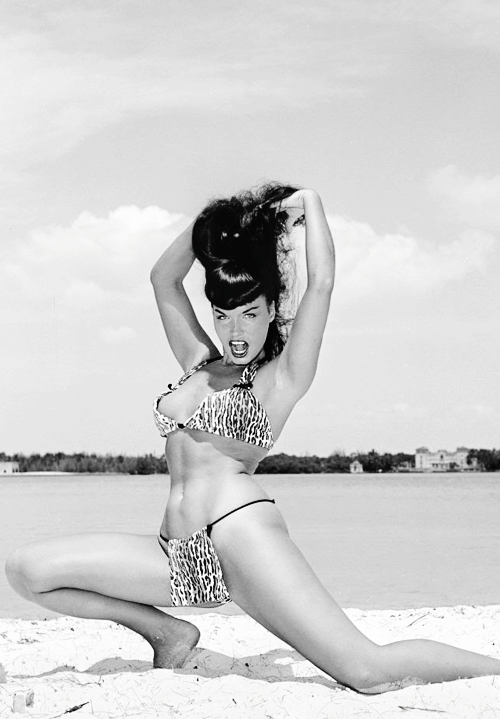 vintagegal:  Bettie Page photographed by Bunny Yeager, 1954