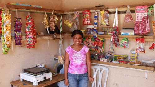 "Meet Martha, a recipient of a micro-loan who is on her way out of poverty because of YOU!     Martha is 29-year-old married mother of two girls (ages 9 and 10) that lives in Santiago. She owns a store in her local community and sells items like juice, snacks, fruit, and candy. Martha used to only be able to afford to buy a very small amount of merchandise at a time to sell to customers. Once all of her products were sold, she would have to travel to buy more items. Traveling expenses left her profit margin very thin, which made it difficult to provide the necessities for her family. Today, Martha's business has changed dramatically due to microlending and training. With her current loan of 12,000 Dominican pesos (about $300 US dollars), Martha was able to expand her business and cut expenses. She saves money by buying in bulk and traveling less often to the marketplace. Martha says business is better than ever and she anticipates further growth. Martha says it is no longer a struggle to provide necessities and her family has become closer and happier. It has impacted her entire community as well because her store is one of the only stores in the area. Now that she can purchase more products at a time, she can offer more to her community. Martha is incredibly grateful for the opportunity that this loan has given her and she told us she wishes she could give everyone who made this growth possible a ""big hug!""     We are so inspired by women like Martha who have the courage and strength to step out of poverty and create a better life for their families. At CHOOZE we believe that every woman in the world who wants an opportunity to support herself and her family should have that opportunity. That's why we use the Good Returns business model.  At the end of each business year CHOOZE invests its profits in microfinance institutions that provide loans, training, education, and support to women living in poverty. When you buy CHOOZE, you are helping women like Martha start their own businesses and lift themselves from poverty.  Thank you for joining our journey to empower and elevate people around the world. You make all the difference.  -Andrea"