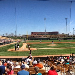 Great day for #baseball. #whitesox #cws #chicago (at Camelback Ranch)