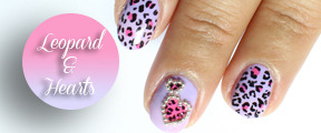Valentine leopard and hearts nail art tutorial + pics      This is my first collaboration with other youtube gurus! We decided to make a beautiful…View Post