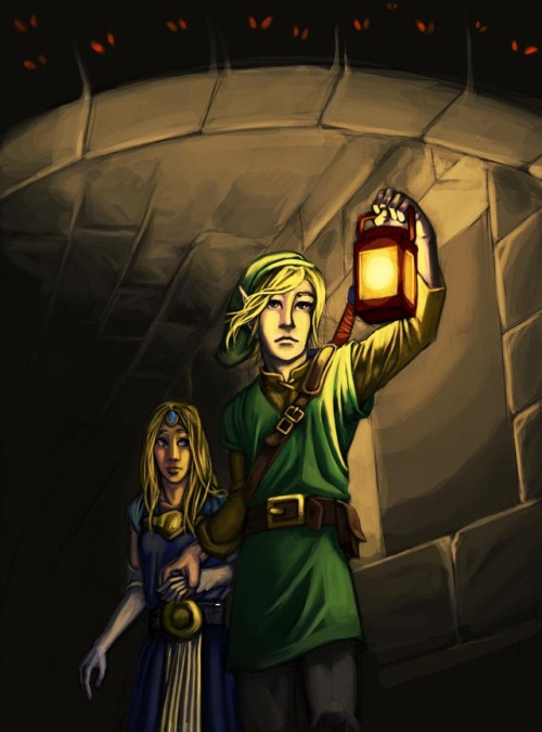 "legendarycreations:  Fanart ""A Link to the past"" by ~MonsieurTo"