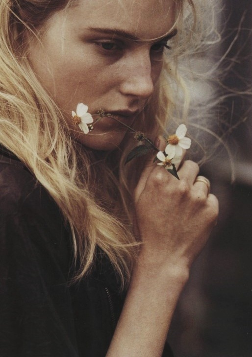 """The Ballad of Ryan, Anna, Josh & Dree"" Dree Hemingway shot by Bruce Weber for Vogue Italia September 2010"