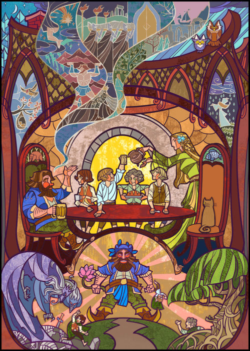 Talking with Tom Bombadil by ~Breathing2004
