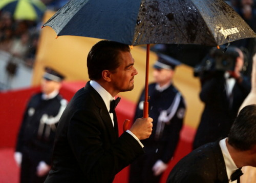 "thessfw:  Leonardo DiCaprio arrives at 2013 Cannes Film Festival for ""The Great Gatsby"" premiere."
