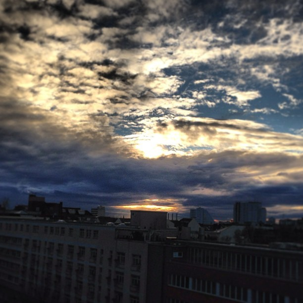 #clouds over #berlin