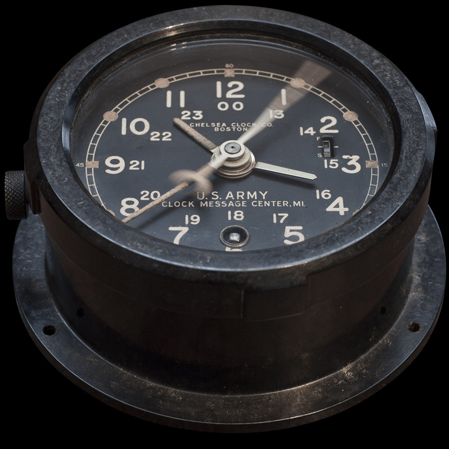 thegiftsoflife:  USA ARMY CLOCK 1920-30