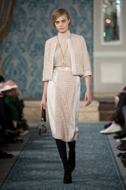 modelsoffthecatwalk:  Tory Burch Fall 2013 Cara