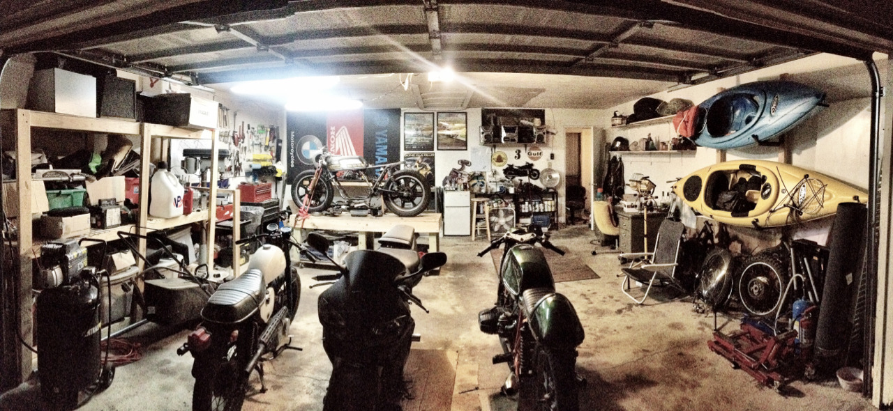 Without warning my wife decided to clean / organize the garage… Solely because she's the greatest.   Ladies… The bar has been set.