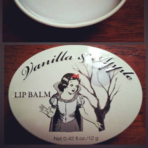 My new lip balm from H&m   #lipbalm #lip  #balm  #Disney  #snow_white #Snowwhite #HM