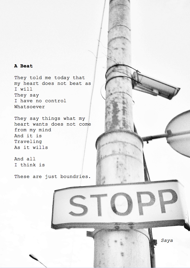 A Beat Poem by Saya Valiente