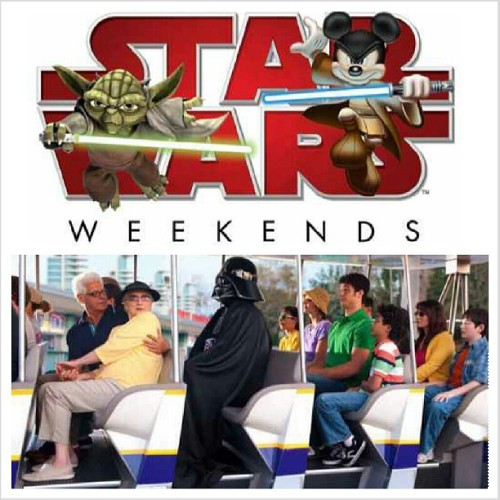 cannot wait til this weekend with my boyfriend :D #starwarsweekend #disney