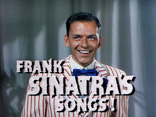 francisalbertsinatra:  Frank Sinatra in the trailer for Take Me Out to the Ball Game (1949)   This is pretty great.