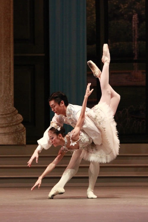 Rosa Park and Chen Peng in Sleeping Beauty
