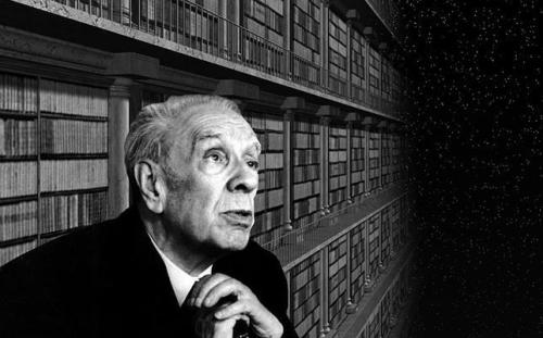 "bochord:  Famous Librarians - Jorge Luis Borges Library Assistant, Buenos Aires Municipal Library in Miguel Cané, 1939-1946 Amongst his other major literary works, he is also the author of short story entitled The Library of Babel, about a library, or universe, of infinite proportions.  ""Man, the imperfect librarian, may be the product of chance or of malevolent demiurgi; the universe, with its elegant endowment of shelves, of enigmatical volumes, of inexhaustible stairways for the traveler and latrines for the seated librarian, can only be the work of a god. To perceive the distance between the divine and the human, it is enough to compare these crude wavering symbols which my fallible hand scrawls on the cover of a book, with the organic letters inside: punctual, delicate, perfectly black, inimitably symmetrical.""  One of the many reasons Borges is among my favourite writers. Read the full short story here."
