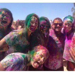 #HOLI Festival of Colors! (at Goleta Beach County Park)