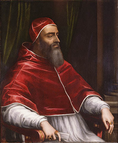 Portrait of Pope Clement VII, by Sebastian del Piombo