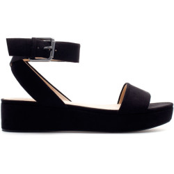 Zara Block Wedge   ❤ liked on Polyvore (see more zara shoes)