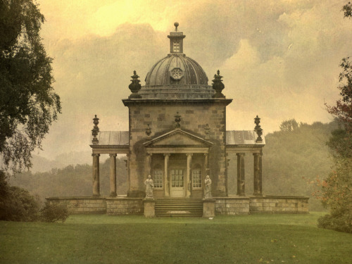 classicalbritain:  The Temple of The Four Winds - Castle Howard
