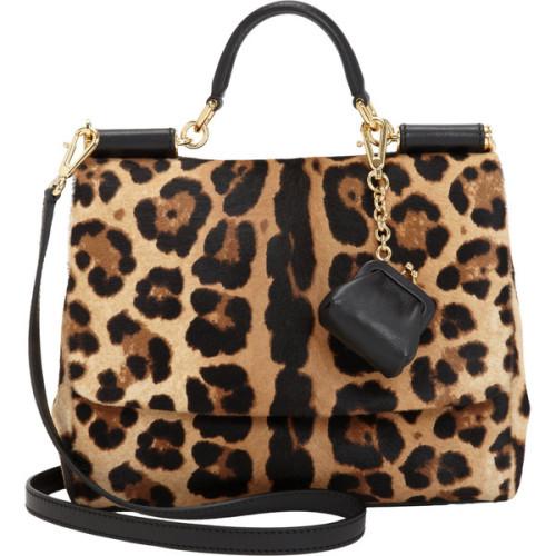 polyvore fashion bags handbags structured handbags dolce & gabbana black coin purse leopard handbags leopard purse