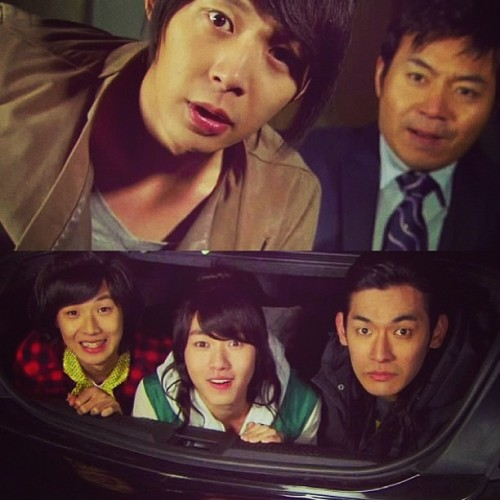 #regram from @korean_dramas heheehe! #rooftopprince is such a #cute #kdrama! I wanna watch it again! #yoochun #oppa #funny #comedy #romance #korean #drama #instagram #instapic